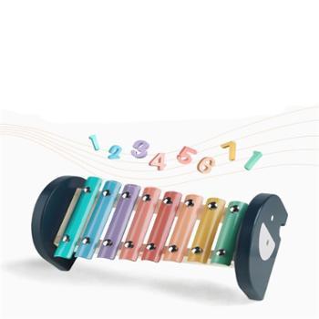 babycare八音琴儿童手敲琴音乐玩具婴儿木琴打击乐器宝宝益智玩具