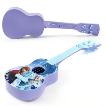 迪士尼儿童吉他玩具可弹奏初学尤克里里儿童乐器玩具男女孩礼物