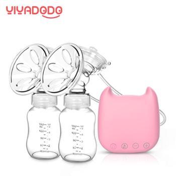双边电动吸奶器 孕产妇吸乳挤奶器吸力大双侧自动按摩静音