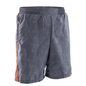 迪卡侬儿童短裤男夏运动裤夏季薄款宽松速干透气跑步短裤RUN K