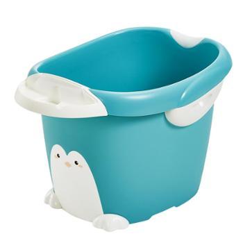 可优比儿童浴桶洗澡盆保温大号加厚可坐婴儿洗澡桶宝宝泡澡沐浴盆