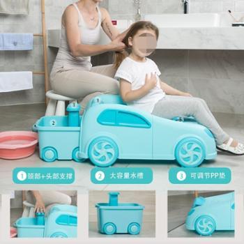 乐比熊儿童洗头躺椅宝宝洗头椅小孩洗发床婴儿洗头发椅子折叠