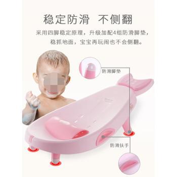 乐雨儿童洗头躺椅宝宝洗头床家用可折叠洗发凳