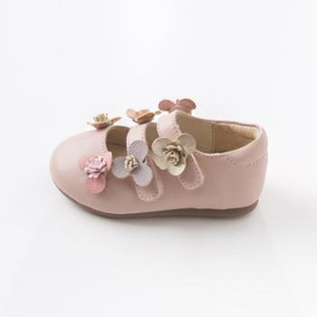 DAVE&BELLA春季女童单鞋 女宝宝时尚皮鞋公主鞋