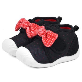 Dr.Kong江博士童鞋冬女宝宝鞋子0-1岁婴幼儿软底儿童机能鞋步前鞋