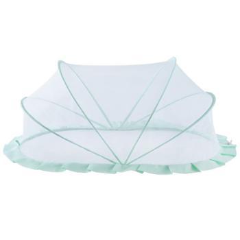 梵芭婴儿蚊帐罩宝宝防蚊神器无底可折叠新生儿童床小BB通用便捷蒙古包