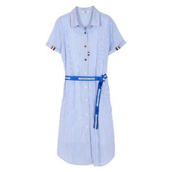 一窝熊崽夏季辣妈款外出装哺乳衣上衣产后时尚潮妈喂奶连衣裙外穿