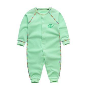 童手童心婴儿连体衣新生婴儿衣服哈衣初生男女宝宝爬爬服