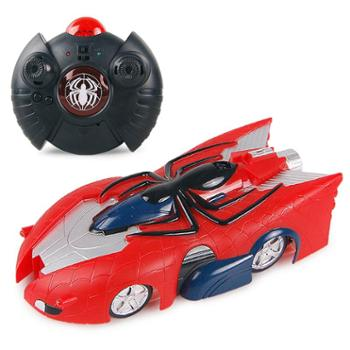 NEWQIDA/新奇达 蜘蛛侠遥控电动充电爬墙车吸墙汽车儿童玩具男孩