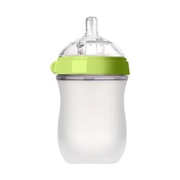 SUPERmama/全能妈妈 婴儿宽口径防胀气防呛全软硅胶奶瓶新生儿宝宝断奶奶瓶