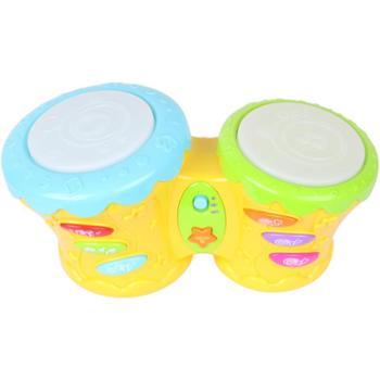 winfun/英纷 非洲音乐鼓婴幼儿手拍鼓6-12个月宝宝拍拍鼓早教益智音乐玩具