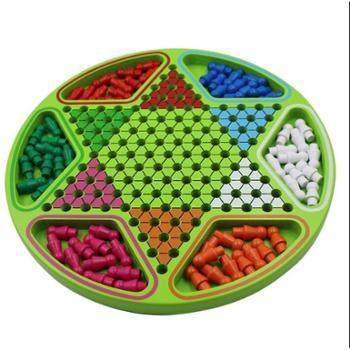 维康 精品六角跳棋 成人儿童益智类游戏棋牌 益智玩具亲子桌游