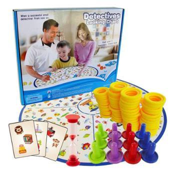 贝秀 棋牌桌面游戏版图版找你妹玩法的儿童益智玩具反应类亲子桌游卡牌