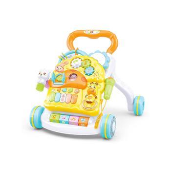 源乐堡 炫光轮宝宝学步推车多功能防侧翻婴儿学走路助步手推玩具
