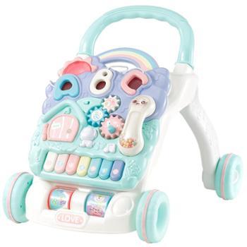 甜逗 宝宝学步车手推车音乐多功能助步车防侧翻婴儿玩具