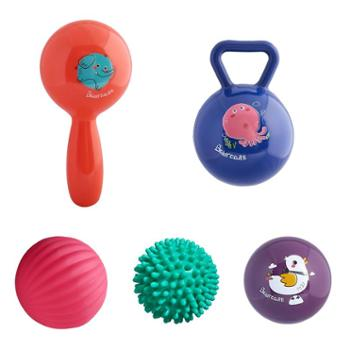 bc babycare 益智感知球软胶手抓球 宝宝抚触按摩球 婴儿触感球类玩具