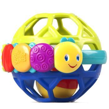 Bright Starts 乐握球婴儿宝宝练习手抓握摇铃球
