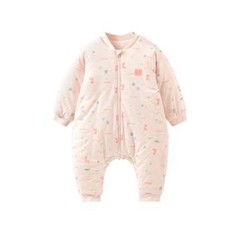 童泰秋冬新款婴儿床品用品男女宝宝分腿睡袋防踢被