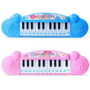 鑫乐儿童电子琴女孩玩具1-3岁小孩益智启蒙音乐琴早教婴幼儿玩具