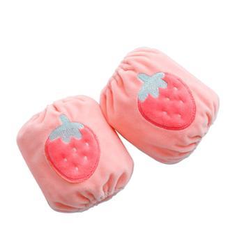 优丽尚宝宝套袖可爱小护袖女童秋冬季婴幼儿短款袖头1双