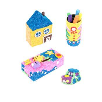 爱松利 超轻粘土套装太空泥橡皮泥彩泥雪花男孩女孩黏土手工diy玩具