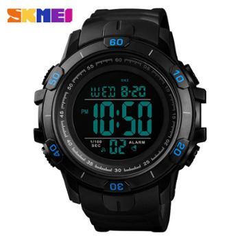 时刻美1475手表男士运动多功能夜显示防水