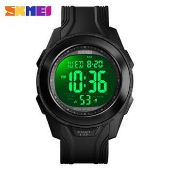 时刻美1503运动手表男士多功能倒计时夜光日期游泳手表