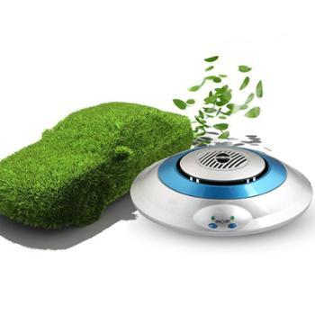 百亿康BYK013飞碟式汽车空气净化器车载净化器净化机除甲醛PM2.5杀菌负离子