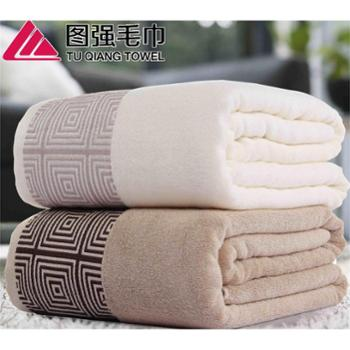 【善融爱家节】图强 围城竹纤维毛巾被双人加大抗菌柔软:规格180*220