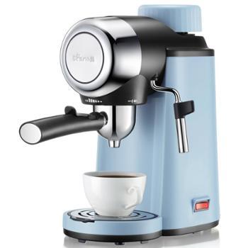 Bear/小熊 KFJ-A02N1 咖啡机高压萃取双出口蒸汽奶泡花式家用