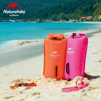 NH三层充气防水袋浮潜游泳包漂流袋沙滩收纳防水包户外游泳装备