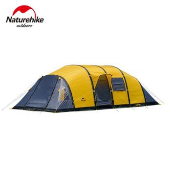 NH挪客户外四室一厅虫洞充气帐篷6-8-10人二室一厅多人团体大帐篷