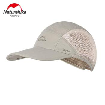 NH挪客春夏季防晒防紫外线透气遮阳帽户外男女徒步运动速干鸭舌帽