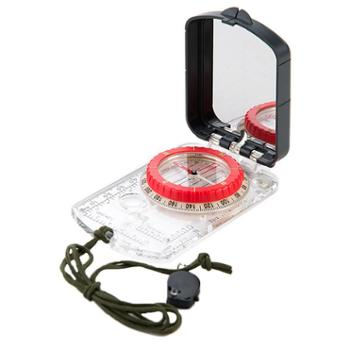 NH挪客专业多功能指南针 户外野营 指南针地质罗盘仪荧光夜光带灯
