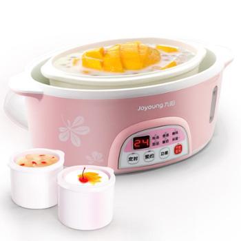 Joyoung/九阳 DGD16-03BS白瓷电炖锅预约 隔水炖电炖盅煮粥煲汤锅