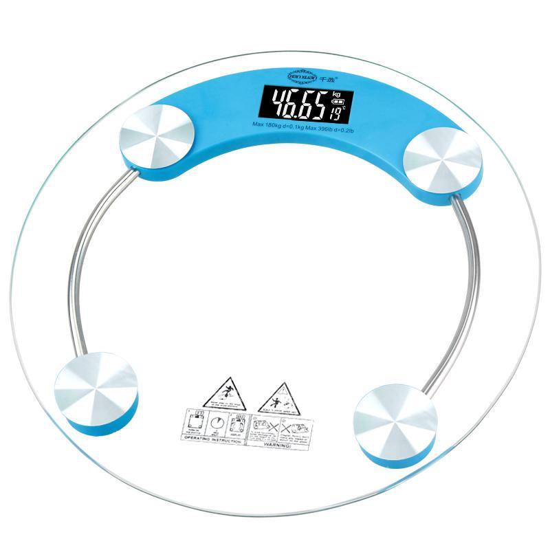 千选家用体重电子称体重秤精准人体称重电子秤健康秤婴儿体重称计