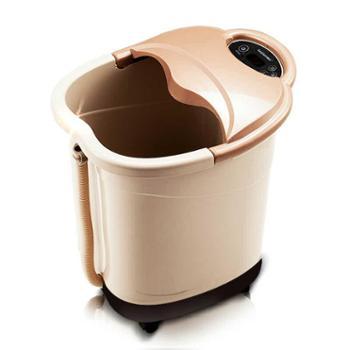 朗欣特足浴盆全自动按摩电动足浴器洗脚盆加热泡脚深桶足疗机高腿