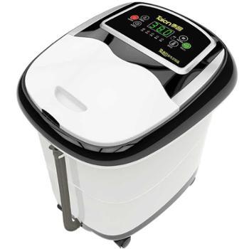 金泰昌足浴盆全自动按摩洗脚盆电动按摩加热泡脚盆深桶机足浴器