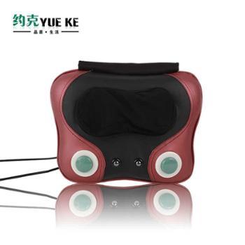 多功能颈椎按摩器仪颈部腰部肩部背部多功能按摩枕家用全身靠垫 YK-916H