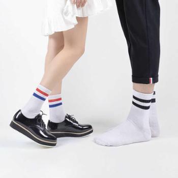 亚鹏5双装男袜女人袜秋冬季高帮中筒袜保暖舒适袜男女士棉袜袜子