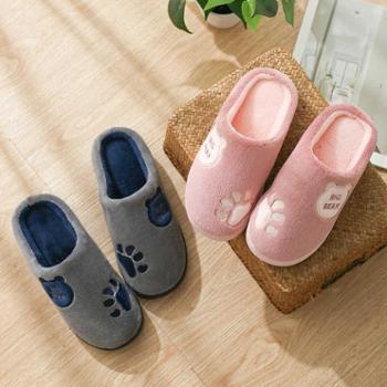 TZLDN冬天棉拖鞋(两双)
