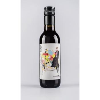 紫轩赤霞珠干红葡萄酒 187ml 单支装红酒