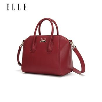 ELLE(她)时尚手挽斜挎包DG162P90001【深蓝色,酒红色选色请备注】