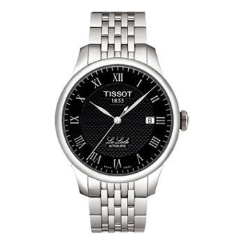 天梭手表TISSOT-力洛克系列商务男士手表钢带机械男表T006.407.11.053.00