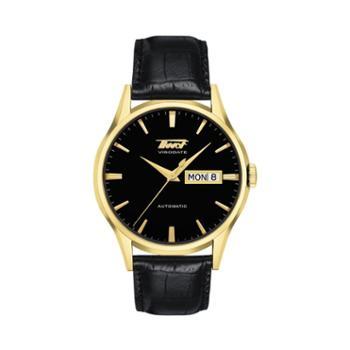 天梭手表TISSOT-HERITAGE系列商务经典男士腕表机械男表T019.430.36.051.01