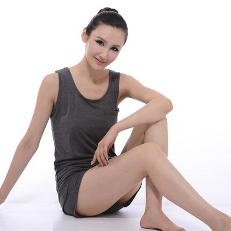 依琦莲背心短裤运动套装女健身跑步2015夏季高温瑜伽服新款正品