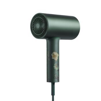 素士 (SOOCAS) 电吹风家用 吹风机负离子大功率速干冷热风恒温护发吹风筒礼盒款H3S梵高绿