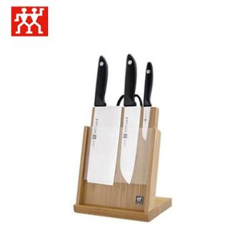 双立人 磁性插刀架套装5件套 刀具五件套