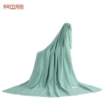 【金丝莉】竹棉家居毯针织毯180×200cm