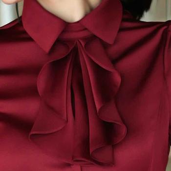 浪漫雅莎品牌正品女装职业装衬衫女长袖女工作服修身OL显瘦正装衬衣